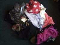 Huge bundle of ladies clothes. Size 10. Jean, dresses, tops and much more. Good condition