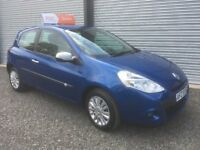 2010 RENULT CLIO 1.2 I-MUSIC 58000 MILES 6 MONTHS WARRANTY DEBIT & CREDIT CARDS WELCOME