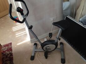 Exercise bike by Lonsdale London good condition