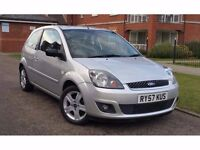 2008 Ford Fiesta 1.25 Zetec Climate 3dr **F/FORD/S/H+1 OWNER+IMMACULATE**
