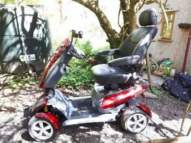 TGA Vita 4 Mobility Scooter for sale. New. Metallic Red.