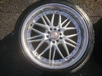 "18"" alloy wheels 5x100 multifit"
