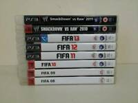 Collection of 13 PS3 games