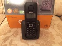 Gigaset A120 Duo Telephones Brand New In Box (2 handsets)