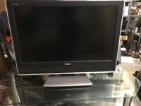 Toshiba 37 inch WLT66 TV and Glass Stand