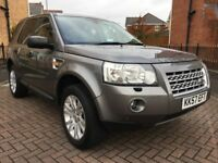 2008 57 LAND ROVER FREELANDER 2 2.2 TD4 HSE 5 DR 4X4 STATION WAGON AUTOMATIC ...