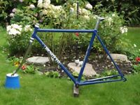 52cm Benotto Frame and Chromed Benotto Pantograph Forks only.