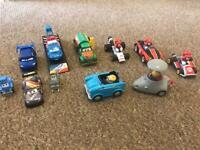 Vehicle Assortment x11 - Disney Cars, Minions & Super Mario