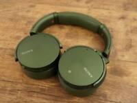 Sony MDR-XB950N1B Extra Bass Over ear headphones. Worn once. Like new. Amazing headphones. £125 ONO