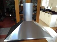 SMEG 900 mm Stainless Steel Range Cooker Hood.
