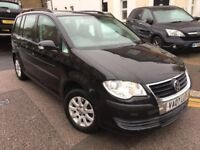 TOURAN 1 FORMER OWNER 1 YEAR MOT MINT CAR 7 SEATER DRIVES LOVELY FULL HISOTRY