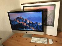 iMac 27 inch – Late 2014 - Retina 5k – 32GB RAM – 1TB Apple FUSION SSD – 2GB Graphics – AppleCare