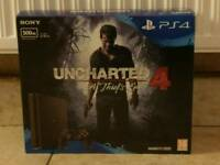 Brand New Sealed Playstation 4 Slim 500GB Uncharted Bundle