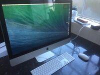 """iMac, 27"""", 3.4ghz i7, 8gb ram, 1TB SSD"""