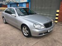 mercedes s320 cdi 2005 05 plate auto fully loaded sat nav heated leather seats massage seats