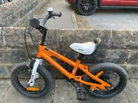 Royal-baby Freestyle Orange-12-inch-Kids-Bicycle