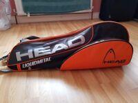 Head Sports Bag - Squash, Tennis or Badminton.