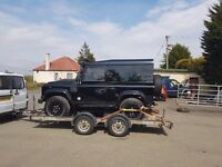 Car transport (recovery) trailer