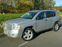2008 JEEP COMPASS 2.0 CRD*FSH*LIMITED EDITION*LEATHER*H/SEATS*MINT COND'N*#SUV#X-TRAIL#LANDROVER#CRV