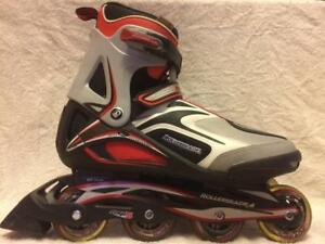 LIke NEW Rollerblade Spiritblade 4.0 Inline Skates 78mm/80A Men's Size 12
