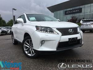 2015 Lexus RX 350 SPORTDESIGN PKG ONLY 35 KMS!!