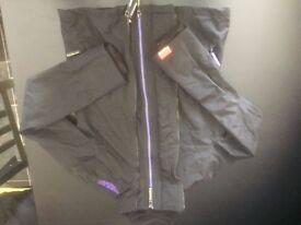 Black Superdry Ladies Windcheater Jacket Medium