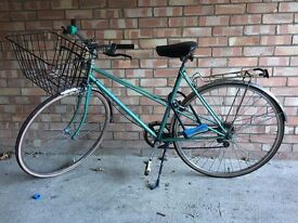 Great sea-green bicycle, selling due to purchase of new bike