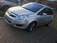 2008 Vauxhall Zafira elite 7 seater 1.9 cdti