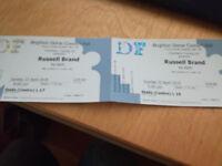 2x Tickets Russell Brand Re: Birth