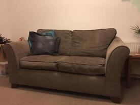 2 and 3 seater fabric sofa