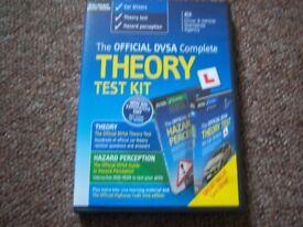 Theory and Hazard perception DVD Test Kit