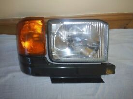 land rover discovery head light indicator and trim