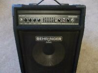 Behringer 90 watt, bass amplifier workstation