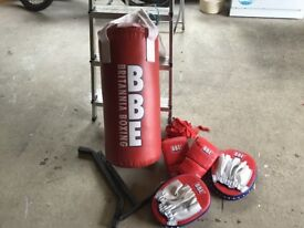 Boxing Bag with gloves and pads /punch Bag