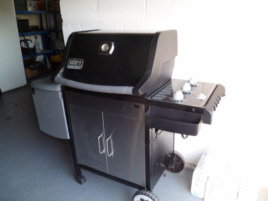 genuine weber gas bbq grill in exeter devon gumtree. Black Bedroom Furniture Sets. Home Design Ideas
