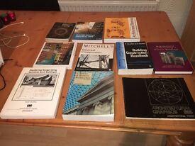 Architectural books for sale
