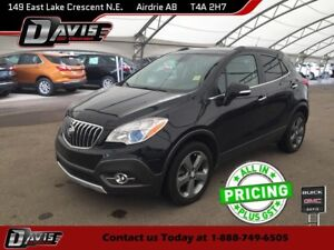 2014 Buick Encore Leather NAVIGATION, SUNROOF, REAR VISION CA...