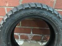 Yamaha quad bike front tyres excellent tread left on them very good condition