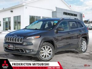 2015 Jeep Cherokee Limited REDUCED | 4X4 | HEATED LEATHER | N...