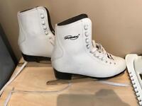 Ladies ice skate