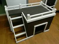 Dog kennel with sun area