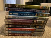 Ghibli / Anime DVD's