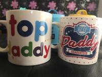 Dad mugs x2