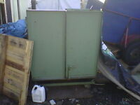 Scrap metal bin on wheels for sale
