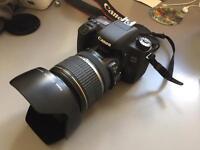 Canon 760d + 17-55mm f2.8 lens + bag