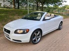 2009 59 Volvo C70 Hardtop Convertible Ice White Edition, 2.0 Diesel 12 Months MOT 4 new tyres