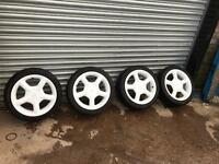 "Ford escort gti wheels 16"" £325 O.N.O"