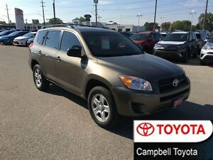 2011 Toyota RAV4 4 CYL 4X4 LOCAL TRADE ONE OWNER