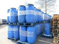 240ltr plastic barrels ideal for shipping water butts storage