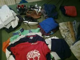 Box of boys clothes.10-12 years